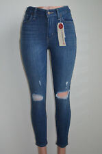 Levi's 721 High Rise Ankle Skinny Jeans Blue Lighting NWT Style #554510001