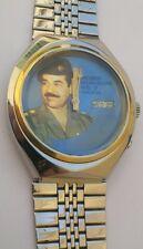Tressa Automatic 5206 Men's Watch Presidential Saddam Hussein Iraq Blue Dial