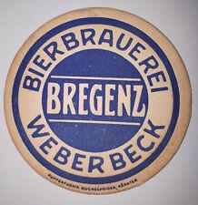 ANCIEN SOUS BOCK - BIERBRAUEREI - WEBERBECK - BREGENZ ÖSTERREICH