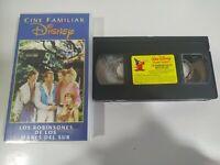 Los Robinsones de los Mares del Sur Walt Disney - VHS Cinta Tape Español