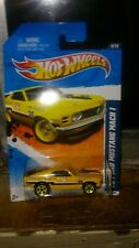 Hot Wheels '70 Ford Mustang Mach 1 Annapolis Fire Rescue Main Street '11 Diecast