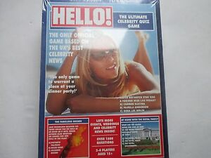 Hello! The Ultimate Celebrity Quiz Game, New Sealed and Unopened.