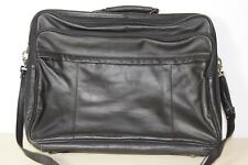 Stilvoll Reisen PICARD JET 2001 Leder-Koffer schwarz Reisekoffer Reisetasche