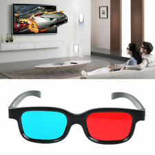 Red Blue 3D Glasses F Red And Blue 3D Projector TV Picture Game Video Movie DVD