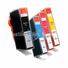 4 PACK 564XL New Ink Cartridge W/CHIP 564XL *INK LEVEL* 564XL (1BK+3CLR) for HP