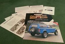 1984 1985 DUTTON Phaeton S3 Rico Sierra Melos 2+ MULTI PART UK KIT CAR BROCHURE