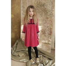 I LOVE GORGEOUS ILOVEGORGEOUS  PINK PUNKY VELVET DRESS 6/7 HOLIDAY