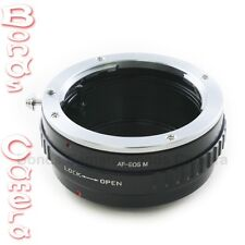 Sony Minolta Alpha lens to Canon EOS M EOSM EF-M mount Mirrorless camera adapter