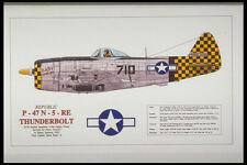 419049 Republic P 47 N 5 RE Thunderbolt A4 Photo Print