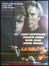 LA RELEVE The Rookie Affiche Cinéma 160x120 Movie Poster CLINT EASTWOOD