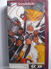 X-GAMES 1998  International Snowblade Team - VHS New! Snow Blades Salomon Sports