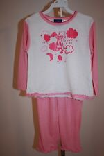 NEW-MENDED ANAHEIM ANGELS TODDLER GIRLS 3T Cute Pink Pajama Set