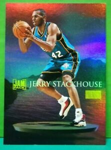 Jerry Stackhouse insert card Jam Pack 1997-98 Skybox #5