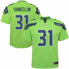 NWT Nike Kam Chancellor Seattle Seahawks Color Rush Jersey youth L/large