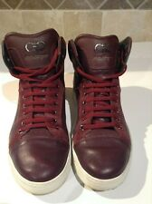 Salvatore Ferragamo High Top Sneakers Size 9 D