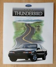 FORD THUNDERBIRD orig 1997 USA Mkt Sales Brochure Catalogue - LX Sport Option