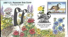 (9h1) Collins Hand Painted FDC: RW64 Canada Goose