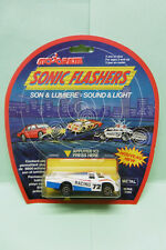 Majorette Sonic Flashers - PORSCHE 956 blanche - Années 1990 Made in France 1/64