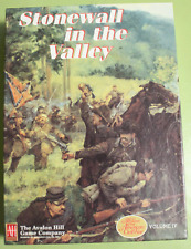 Stonewall in the Valley by Avalon Hill - GCACW Series Game - Punched
