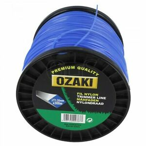 Genuine Ozaki 1.6mm x 215m Strimmer Line (Square)