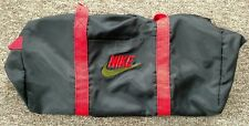 93f38aa5a7 NIKE Vintage Gym Duffel Bag Nylon Shoulder Strap Handle Very Neat