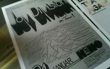 Joy Division repro promotional A3 super quality heavy canvas paper print poster