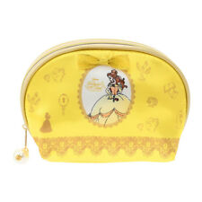 New Disney Store Japan Beauty and the Beast Belle Pearl Makup Bag