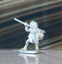Rare Mini Vintage Dungeons & Dragons Metal Miniature D&D Fighter w Spear Shield
