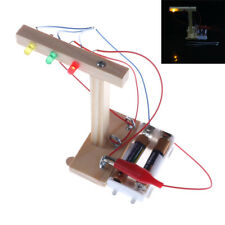 Baby Kids Handmade Assembled Science Model TOY DIY Traffic Lights Education TOY~
