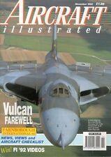 AIRCRAFT ILLUSTRATED NOV 92 WW2 RAAF AUSTRALIA CA-13_RAF AVRO VULCAN_LUFTWAFFE