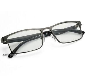 Metal Frame Near Sighted Full Rim Short Distance Glasses Myopia -1.0 to -6.0 UK