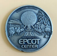 Disney EPCOT Center Opening Year 1982 Souvenir Coin Medallion