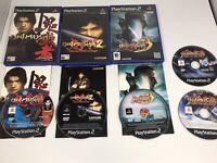 PS2 ONIMUSHA WARLORDS, ONIMUSHA 2, ONIMUSHA 3 AND DAWN OF DREAMS GAMES