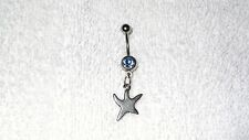 Starfish Design Charm Belly Button Navel Ring Body Jewelry Piercing