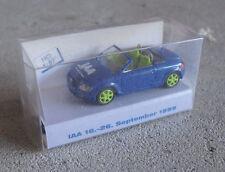 RARE Rietze HO 1/87 1999 IAA Audi TT Roadster Car NIP