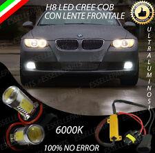 COPPIA LAMPADE FENDINEBBIA H8 LED CREE COB CANBUS BMW SERIE 3 E92 NO ERRORE