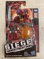 Transformers Siege SMASHDOWN War for Cybertron BATTLE MASTERS WFC-S31 Hasboro
