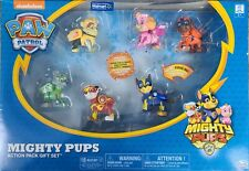 Walmart exclusive paw patrol mighty pups action pack gift set of 6 pups
