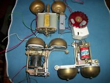 Lot of 4 Rotary Phone Ringer, Different Styles & Brands, For Parts,!