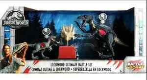 Jurassic World Blue & Indoraptor in Lockwood Ultimate Battle Set Battle Damage