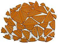 40 Knex Orange Triangle Panel Assortment - Standard K'nex Parts Lot