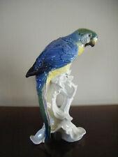 Vintage Karl Ens Porcelain Parrot Figurine
