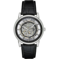 NEW EMPORIO ARMANI MENS GENUINE AUTOMATIC LUIGI WATCH - AR1981 - RRP £349