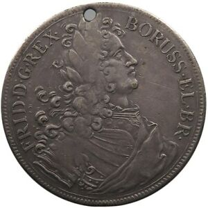 GERMAN STATES JETON 1707 FRIEDRICH PRUSSIA 40mm 10g #v13 055