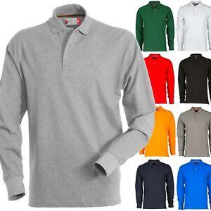 Polo Manica Lunga Payper FLORENCE Uomo Maglia T-Shirt Sfiancata Cotone da lavoro