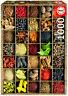 Puzzle Educa 15524, Especias, Spices, Arte, Cocina, 1000 piezas, teile