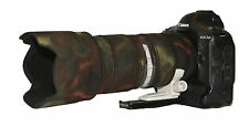 Canon 70 - 200mm f2.8  IS Mk2 Camouflage Neoprene lens protection cover Moss