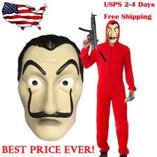 Authentic La Casa De Papel Money Heist Mask Salvador Dali Mascara Masque USA