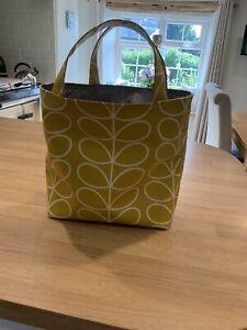 orla kiely Dandelion Stem PVC handmade Small Tote Bag