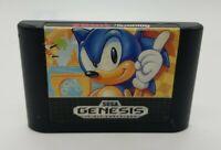 Sonic the Hedgehog (Sega Genesis, 1991) Original Release Cartridge Only Clean
